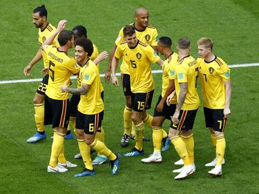 Bélgica se impuso en la final de la consolación por 2-0 a Inglaterra. (Foto. Getty)