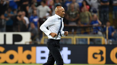 Emotionaler Aufritt: Inter-Coach Luciano Spalletti