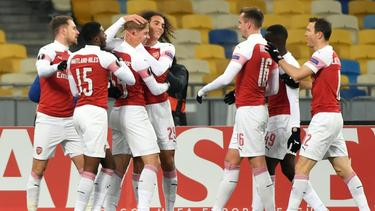 Arsenal gewinnt auch gegen Vorskla Poltava