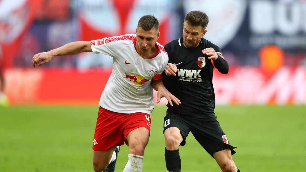 Fc Augsburg Holt überraschenden Punkt Gegen Rb Leipzig