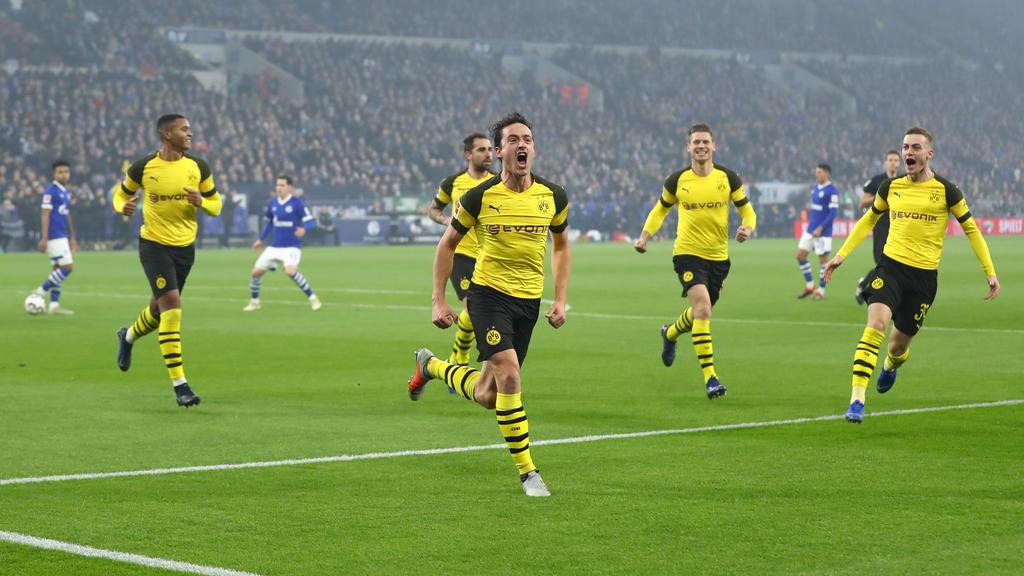 Am Samstag steht das Revierderby zwischen BVB und FC Schalke 04 an