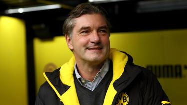 Michael Zorc ist immer auf der Suche nach neuen Talenten für den BVB