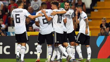 Die deutsche U21 schenkte Serbien ein halbes Dutzend Tore ein