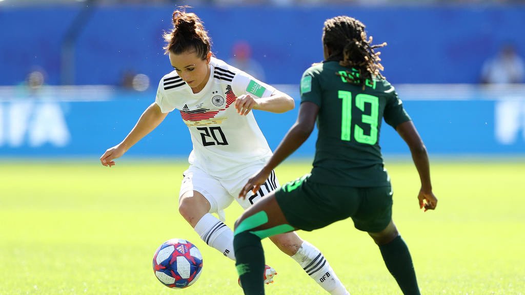 Lina Magull könnte auch gegen Schweden auf dem Platz stehen