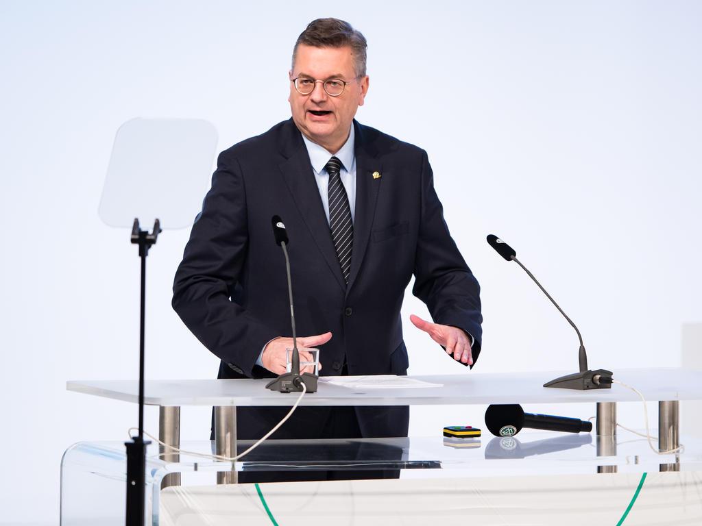 Reinhard Grindel hat sich zu seinen Zielen in Bezug auf die EM 2024 geäußert