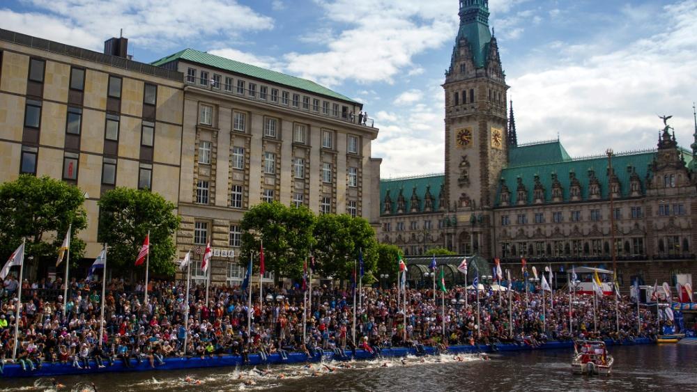 Die deutschen Triathleten holen Silber bei der Mixed-WM