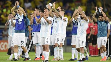 Argentina sigue con su preparación en España.