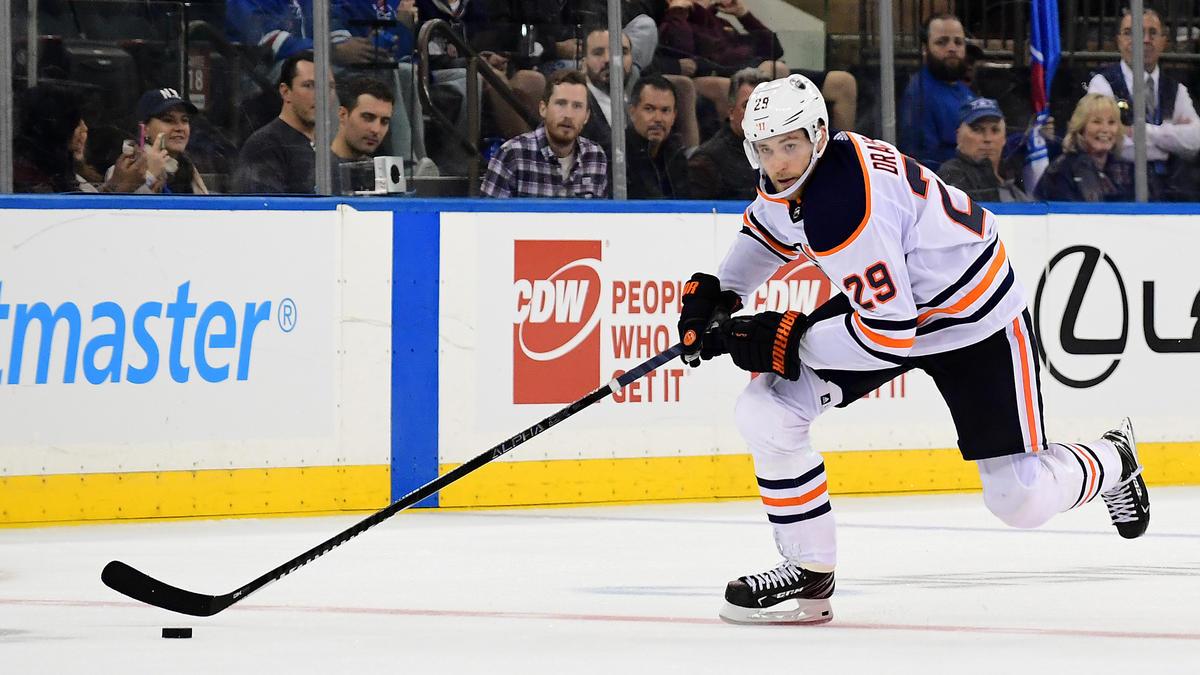 Leon Draisaitl verlor mit den Edmonton Oilers