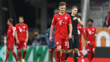 Die Spieler des FC Bayern waren sichtlich enttäuscht