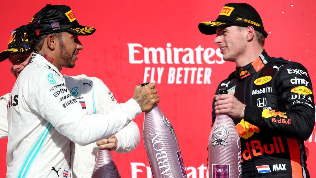 Max Verstappen und Lewis Hamilton haben ihren Streit beigelegt
