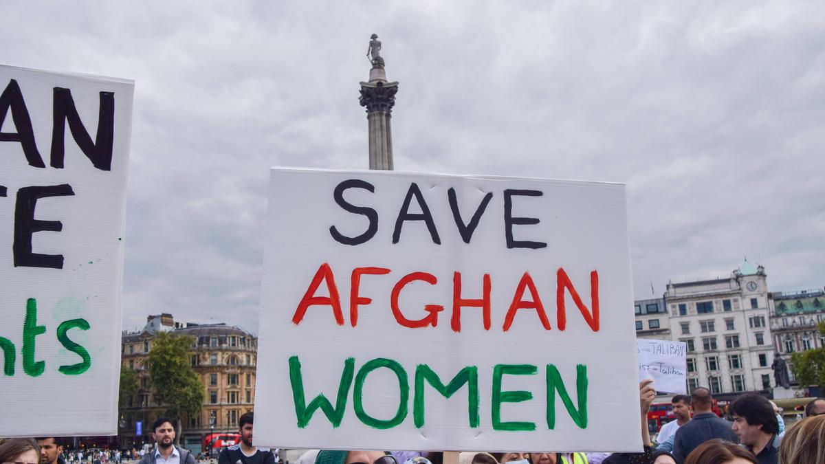 Die Taliban ließen die Rechte für Frauen offen