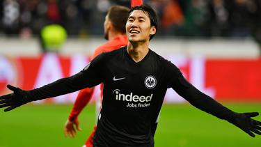 Held des Abends bei Eintracht Frankfurt: Daichi Kamada