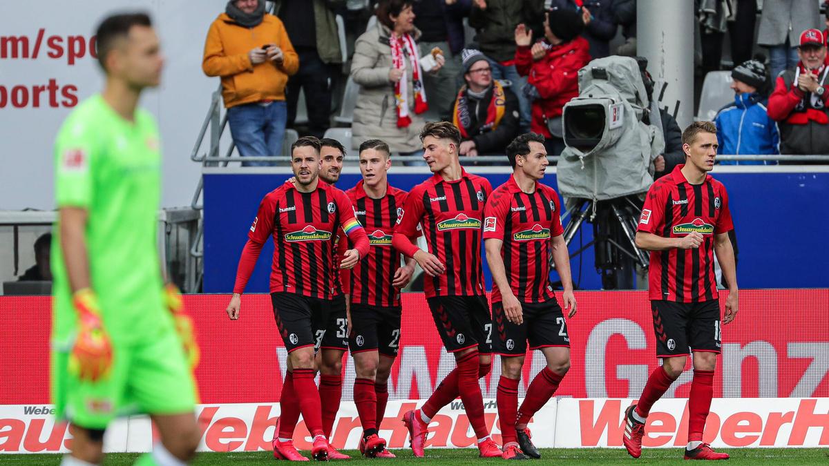Der SC Freiburg ist zurück in der Spur