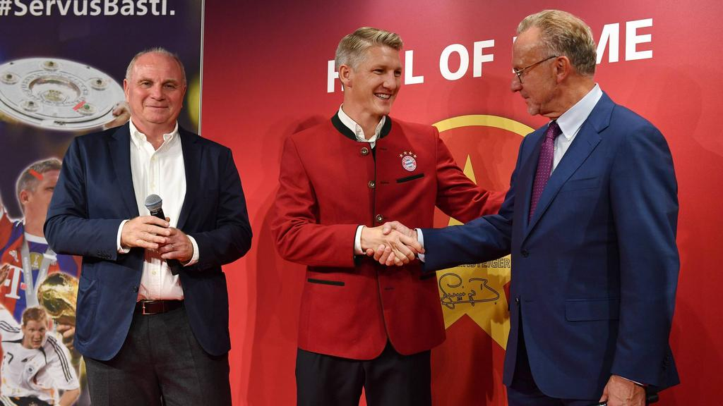 Bastian Schweinsteiger wurde 2018 in die Hall of Fame des FC Bayern aufgenommen