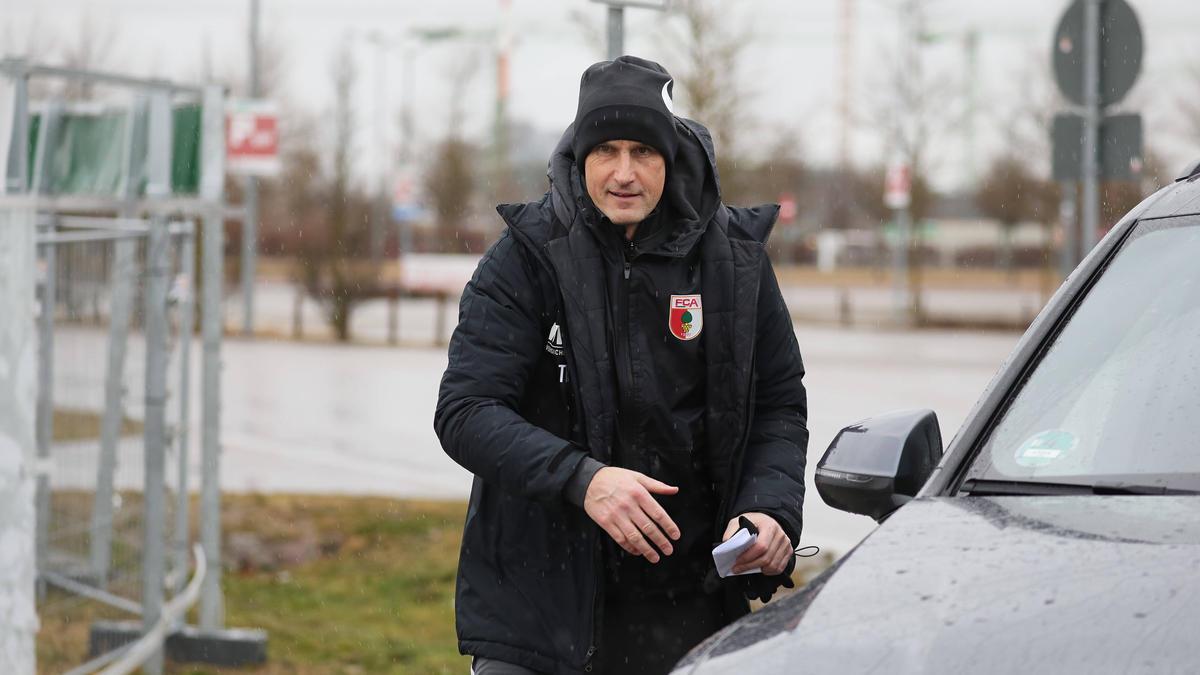 Heiko Herrlich ist zurück beim Team des FC Augsburg