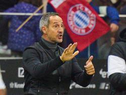 Adi Hütter gastiert mit Eintracht Frankfurt bei den Bayern