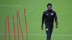 Alphonso Davies hat beim FC Bayern einen Vertrag bis 2025
