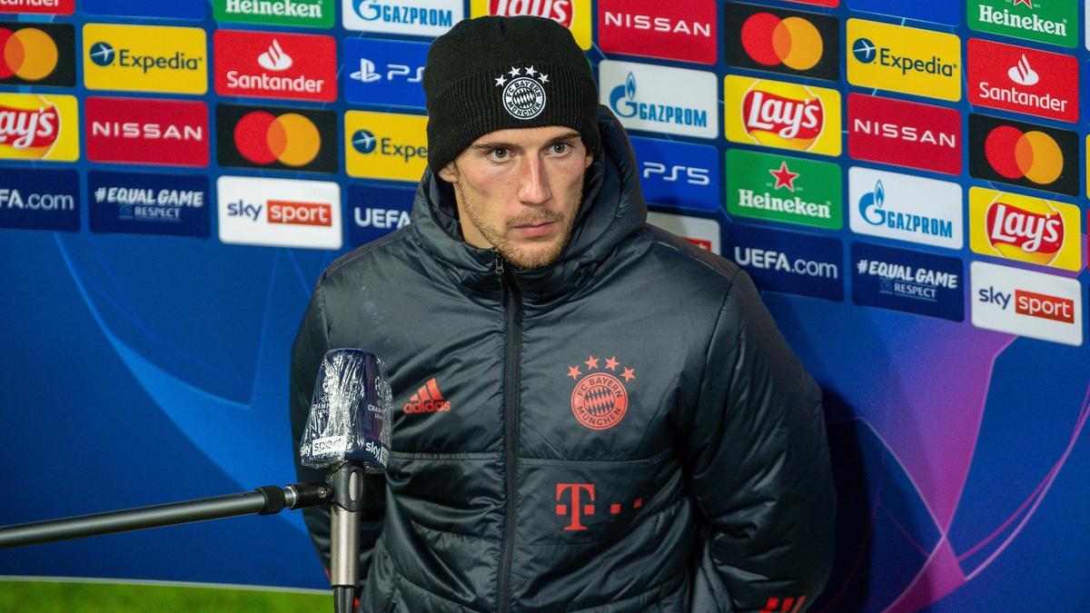 Muss beim FC Bayern einige Zeit ohne Kumpel Serge Gnabry auskommen: Leon Goretzka
