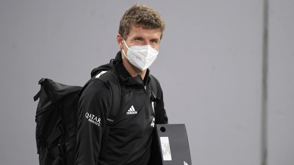 Thomas Müller reiste getrennt vom FC Bayern nach München