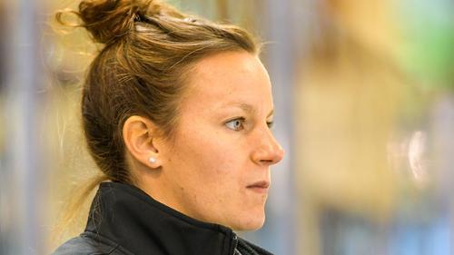 Franziska Busch spielte selbst für die DEB-Auswahl