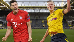 Robert Lewandowski traut Erling Haaland eine steile Karriere zu