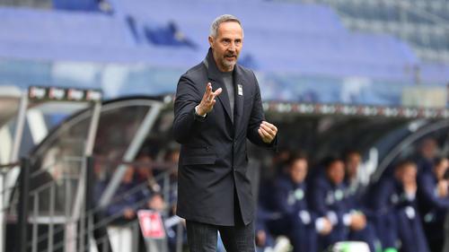Verlässt Adi Hütter Eintracht Frankfurt in Richtung Gladbach?