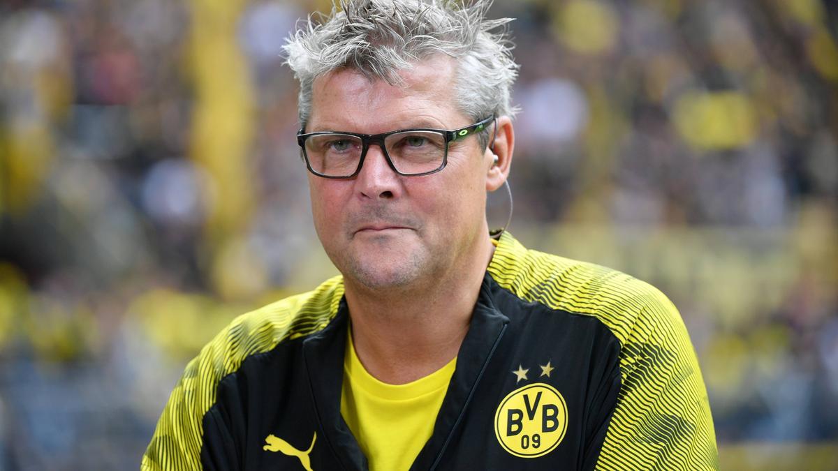 Norbert Dickel ist Stadionsprecher des BVB