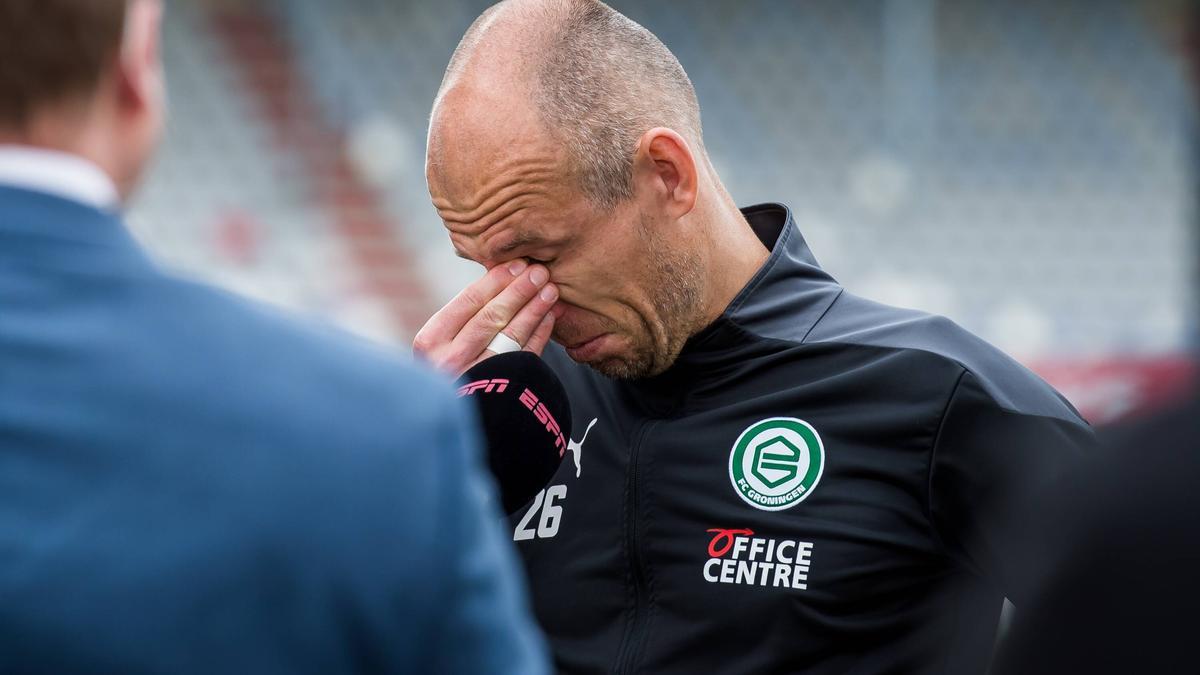 Arjen Robben spielte bis 2019 beim FC Bayern