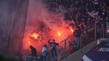 Am Rande des Aufstiegsspiels von Hansa Rostock kam es zu Krawallen