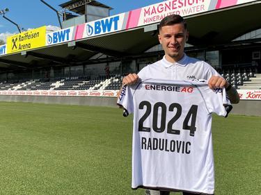 Stefan Radulović erhält beim LASK einen Dreijahresvertrag