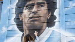 Diego Maradona starb im November 2020