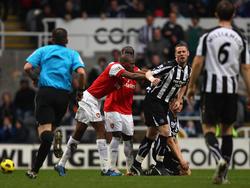 Rote Karte brachte Newcastle zurück ins Spiel