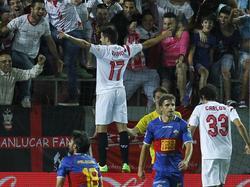 Jairo beim Torjubel nach seinem Treffer zum 2:0 gegen Elche