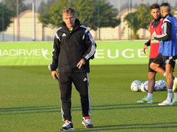 El entrenador francés Christian Gourcuff. (Foto: Imago)