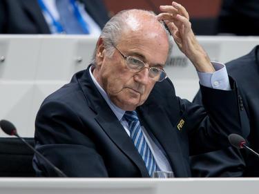 Sepp Blatter en el reciente congreso de la FIFA. (Foto: Getty)