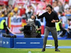 Bundestrainer Joachim Löw lässt seine Spieler durchschnaufen