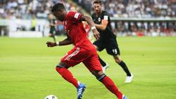 David Alaba hat sich gegen Frankfurt nicht schwer verletzt