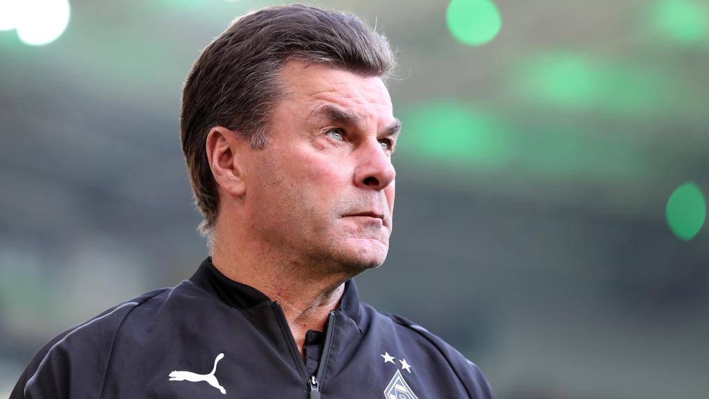 Dieter Hecking war von der Leistung gegen den FC Bayern enttäuscht