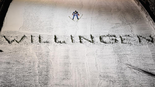 Die deutschen Ski-Adler sprangen in Willingen auf das Podest