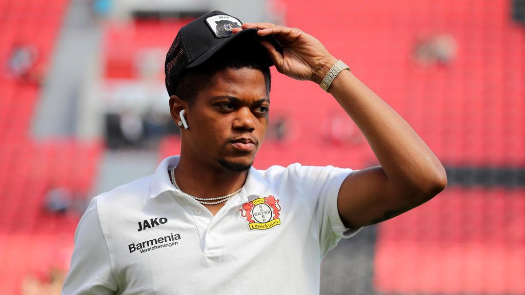 Leon Bailey von Bayer Leverkusen fällt rund vier Wochen aus