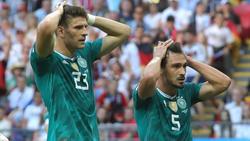 Das DFB-Team flog in Russland bereits in der Vorrunde raus