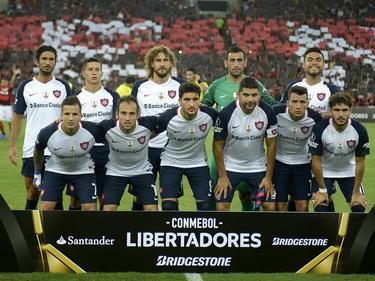 San Lorenzo, en un partido de Copa Libertadores el pasado mes de marzo. (Foto: Getty)