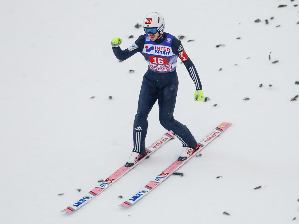 Andreas Stjernen hat das Fliegen in Bad Mitterndorf gewonnen