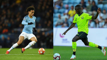 Leroy Sané und Nicolas Pépé stehen einem Bericht zufolge vor einem Wechsel zum FC Bayern