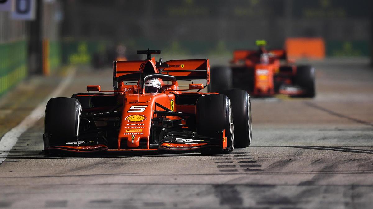 Leclerc vs. Vettel: In Singapur mit dem besseren Ende für den Deutschen