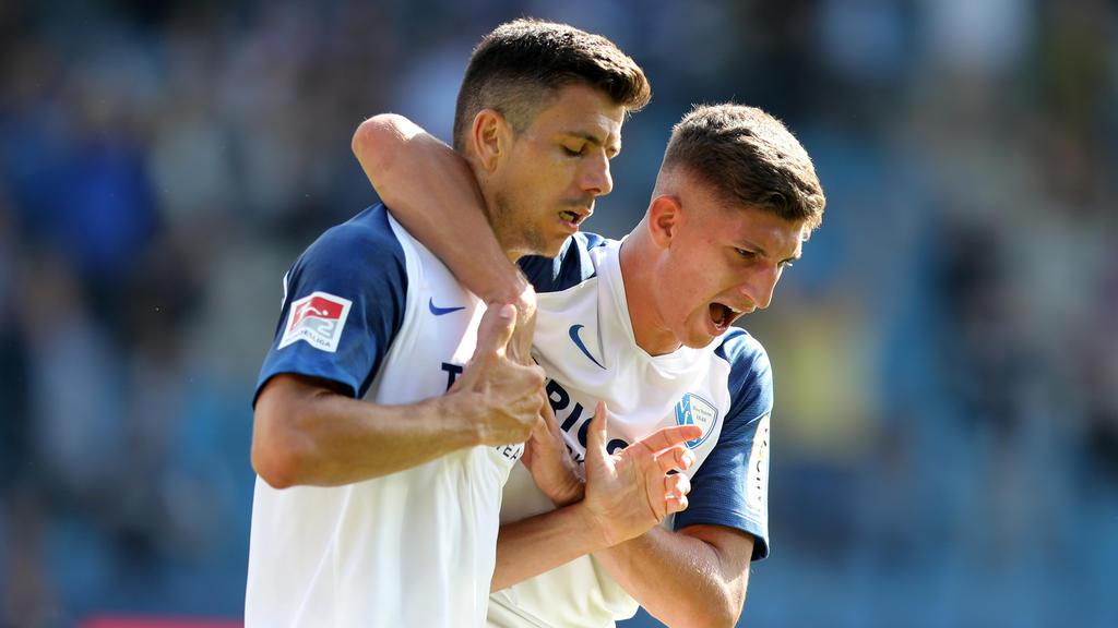 Der VfL Bochum erkämpfte sich einen Punkt gegen Dynamo Dresden