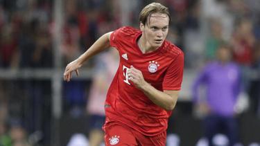 Ryan Johansson brachte den FC Bayern gegen Eintracht Frankfurt in Führung