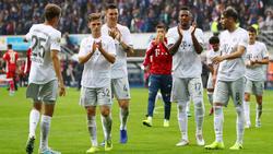 Der FC Bayern hat seine Pflichtaufgabe in Paderborn nur mit viel Mühe erfüllt