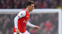 Mesut Özil konnte die Niederlage des FC Arsenal nicht verhindern