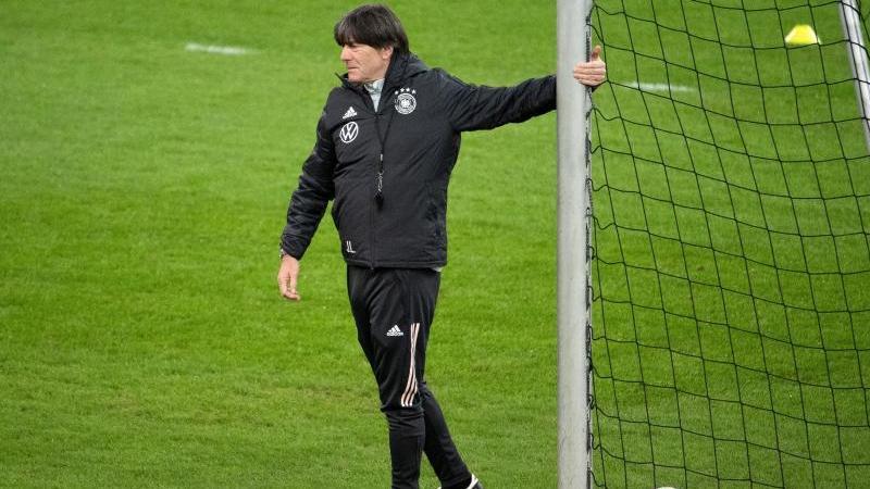 Joachim Löw trainiert derzeit mit dem DFB-Team in Düsseldorf